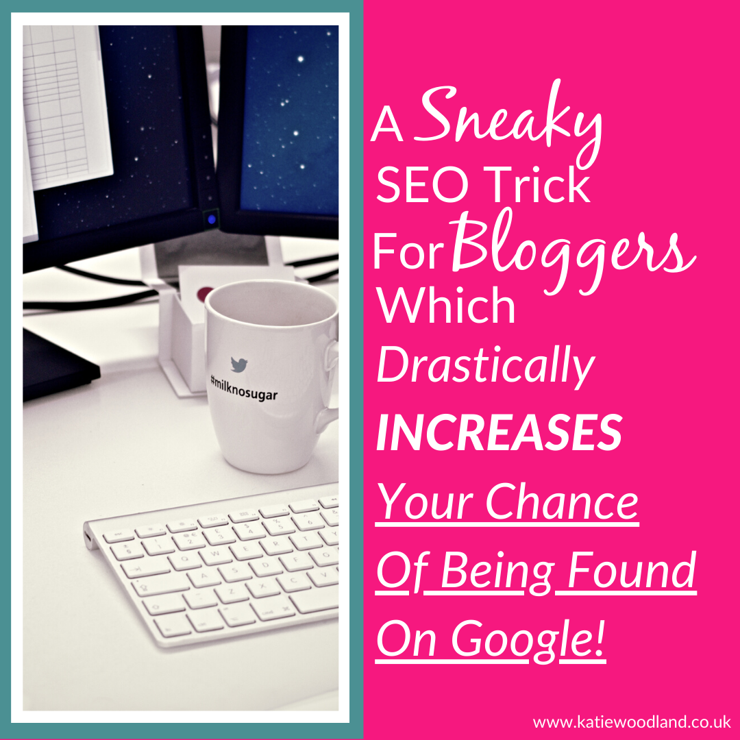 A Sneaky SEO Trick For Bloggers Which Drastically Increases Your Chance Of Ranking On Google