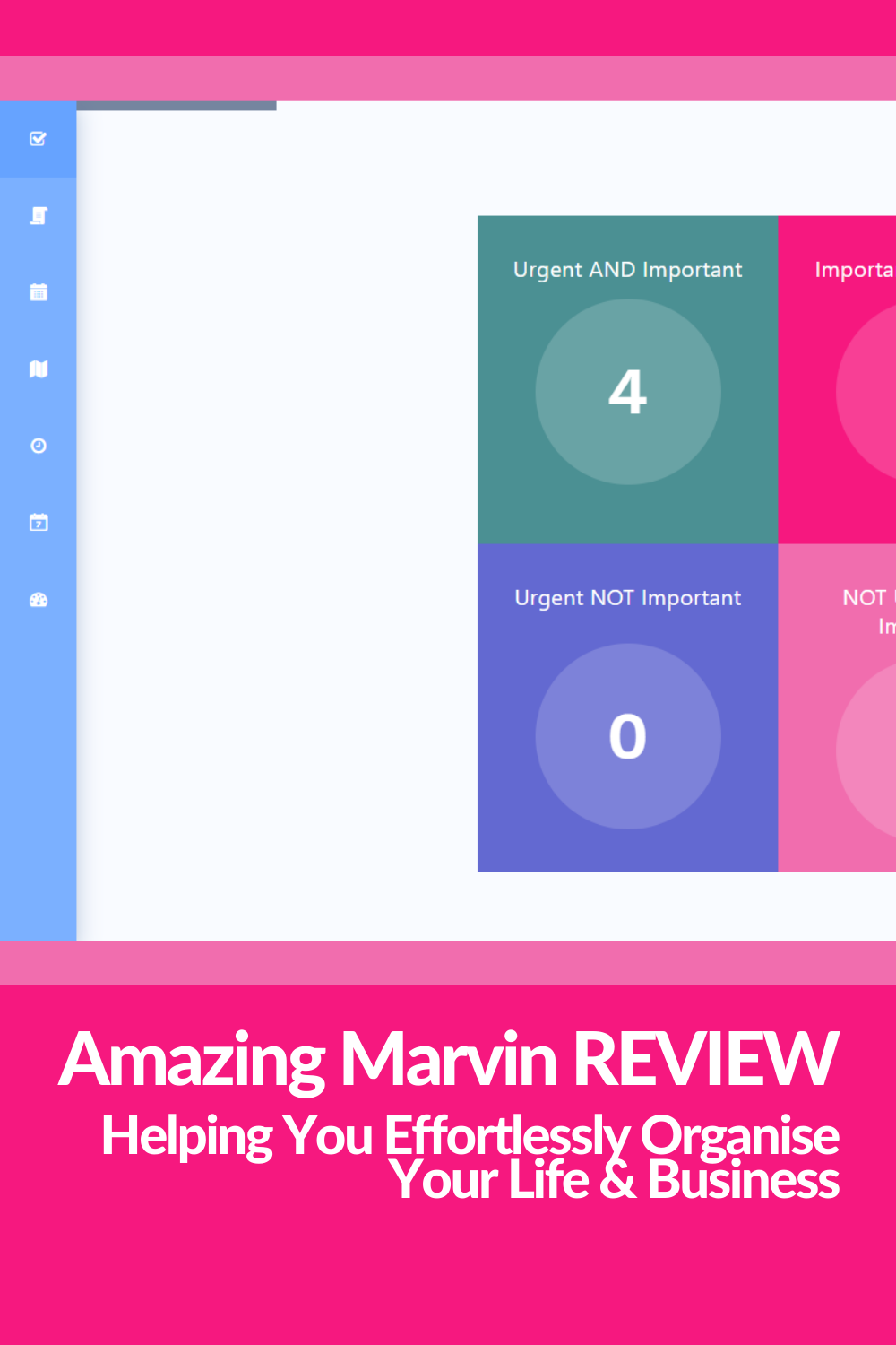 Amazing Marvin Productivity And Task Manager An Honest Review