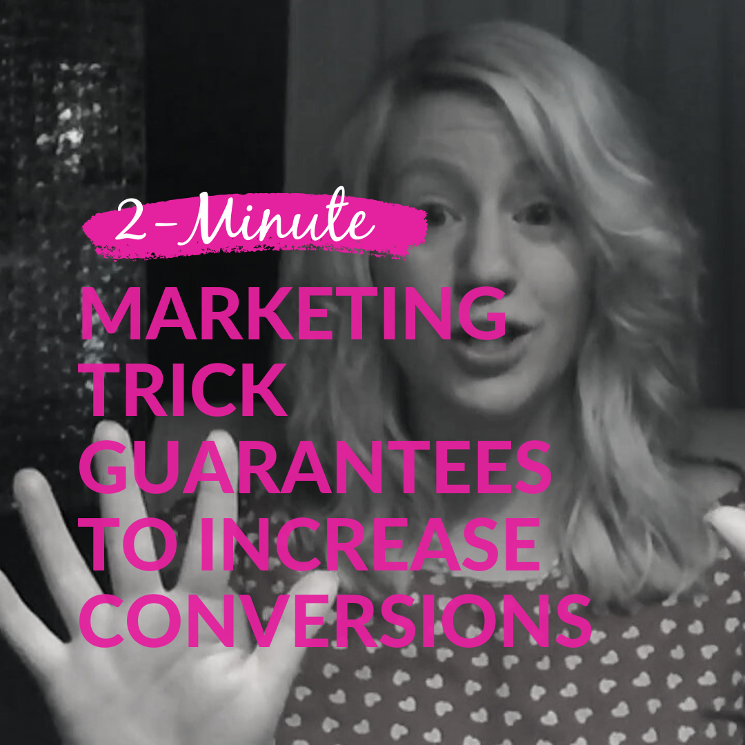 2-Minute Marketing Trick Guaranteed To Increase Conversions
