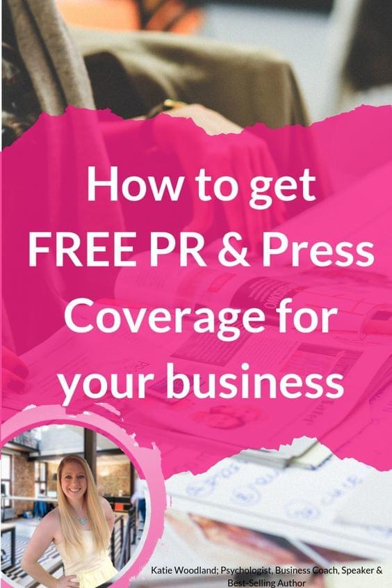 How To Get FREE PR And Press Coverage For Your Business
