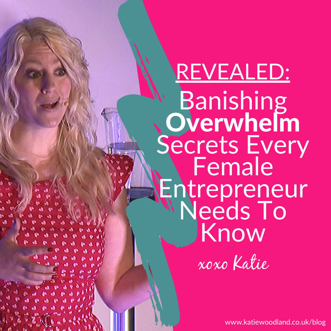 Female Entrepreneur Overwhelm Remedy: discover how you can easily ditch the overwhelm so that you can courageously share your message with the world and successfully turn your passion based hobby into a consistently profitable business.